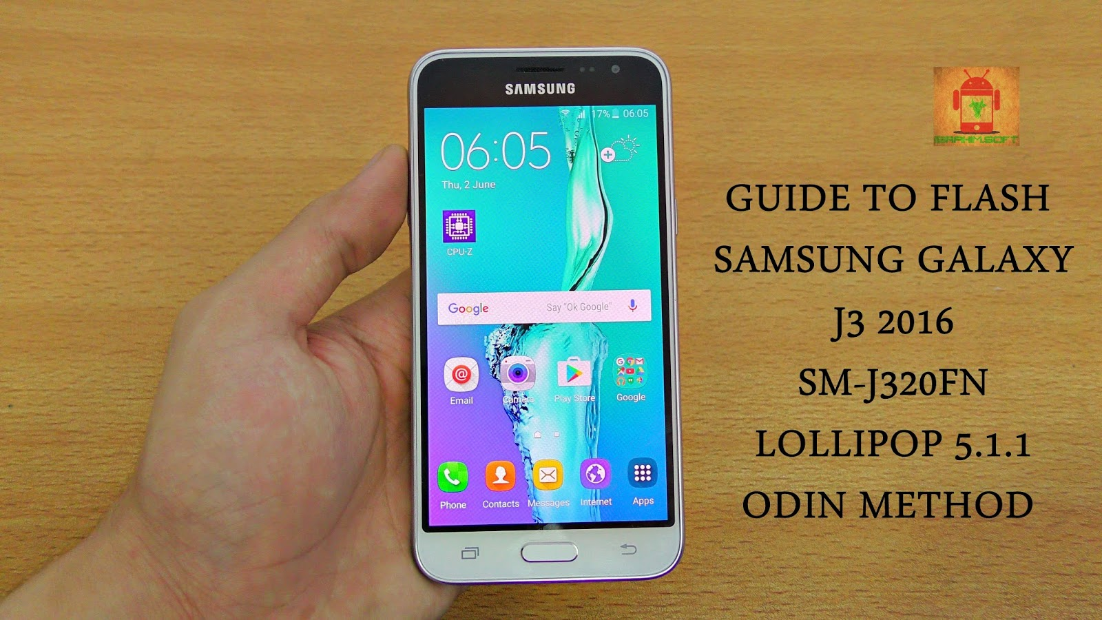 Guide To Flash Samsung Galaxy J3 2016 SM-J320FN Lollipop 5 1 1 Odin