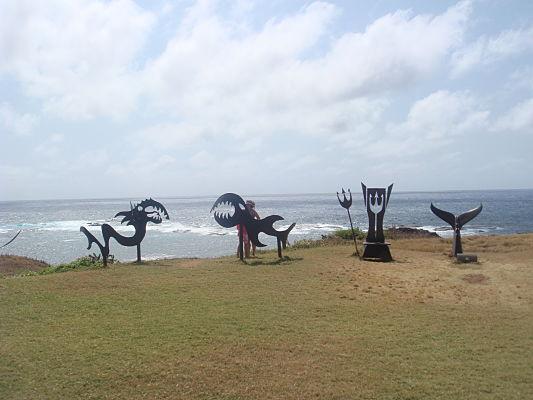 parque esculturas noronha