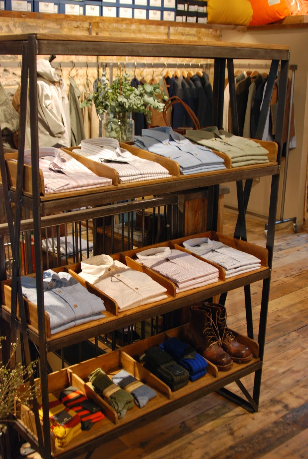 c2955c9f48c784 Just across the street from The Real Mccoy s you ll find Nigel Cabourn s  The Army Gym.
