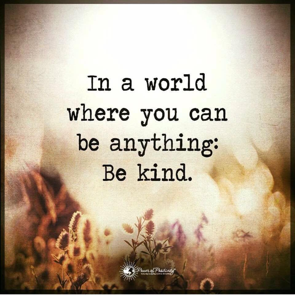 Be Kind. Do Good. Love is a Verb.