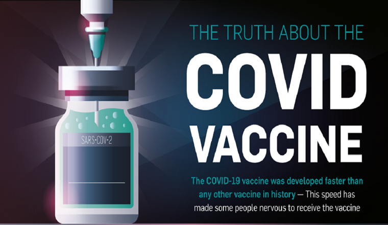 The Truth About The COVID Vaccine #infographic