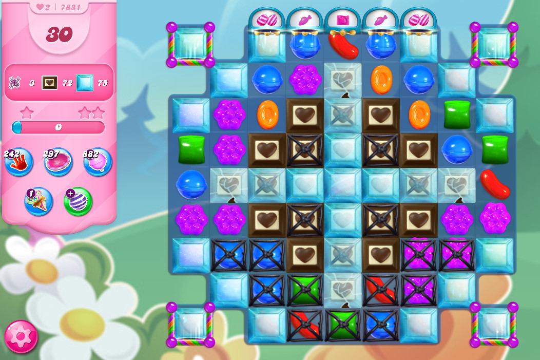 Candy Crush Saga level 7831