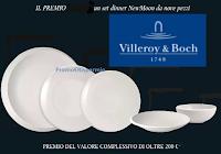 Con Villeroy e Boch vinci gratis 9 Set di stoviglie NewMoon (valore 200 euro)