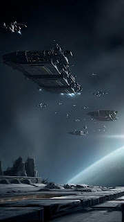 Online Game Spaceships Battle Mobile HD Wallpaper
