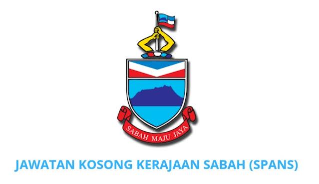 Jawatan Kosong Kerajaan Sabah 2021 (SPANS)