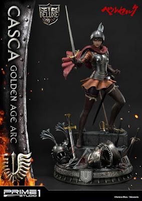 Ultimate Premium Masterline Berserk Casca Golden Age Arc de Berserk, Primer 1 Studio.