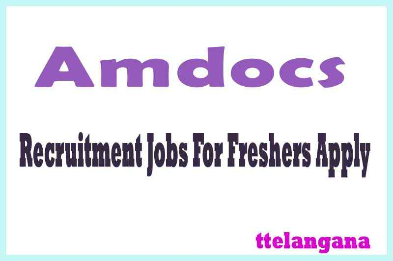 Amdocs Recruitment Jobs For Freshers Apply