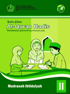 buku siswa mata pelajaran al-qur'an hadits kelas 2 mi kurikulum 2013