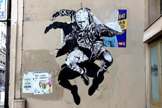 Sunday Street Art : OBT - rue du Chemin Vert - Paris 11