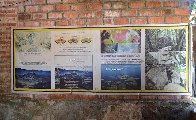 Infografis Gunung Lembu dan sejarah terbentuknya | JelajahSuwanto