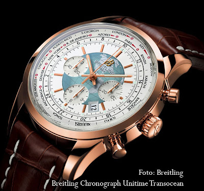 Breitling Chronograph Unitime Transocean