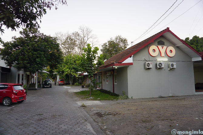 Lokasi OYO Garden Hotel Jogja