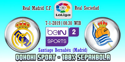Prediksi Real Madrid vs Real Sociedad – 7 Januari 2019