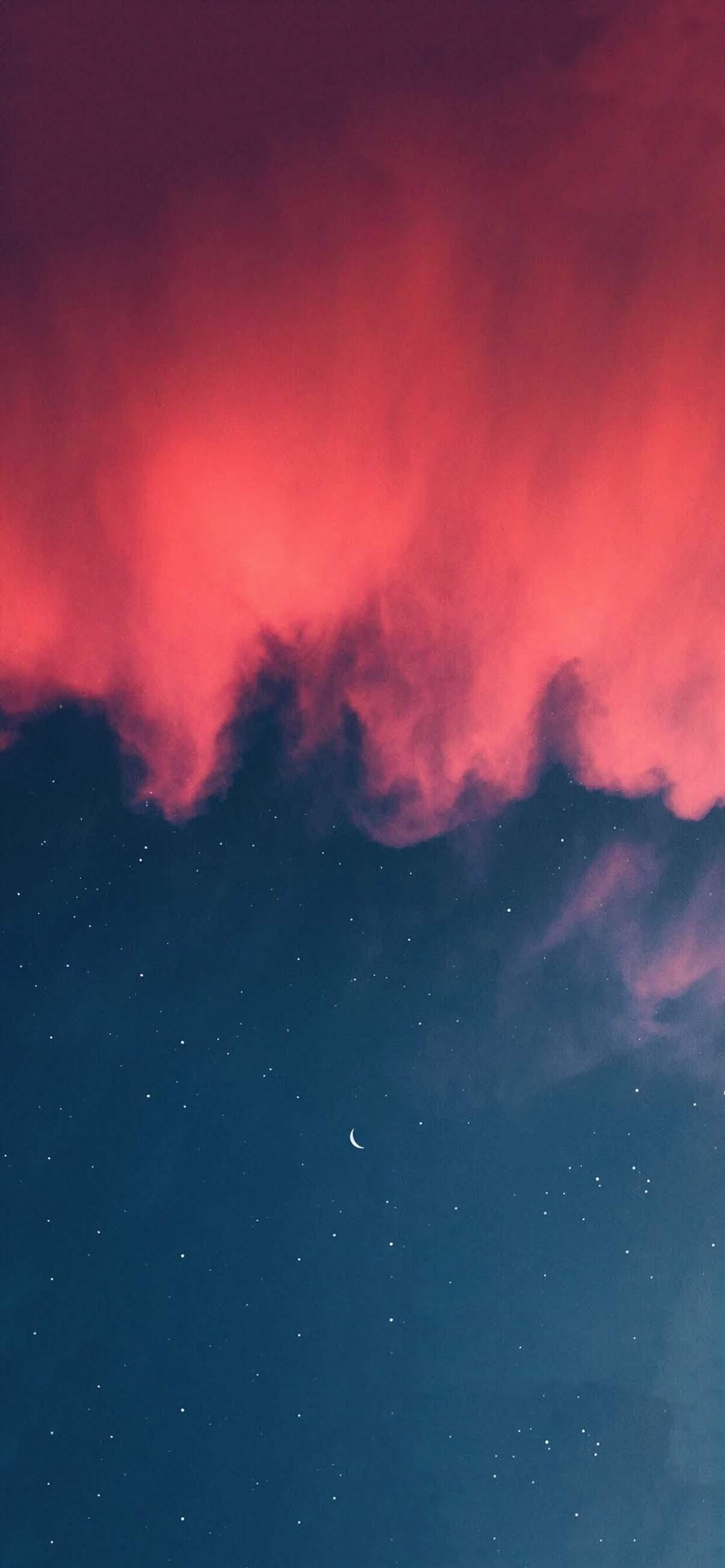 Smoke in the sky mobile wallpaper