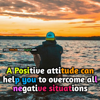 Positive english attitude status
