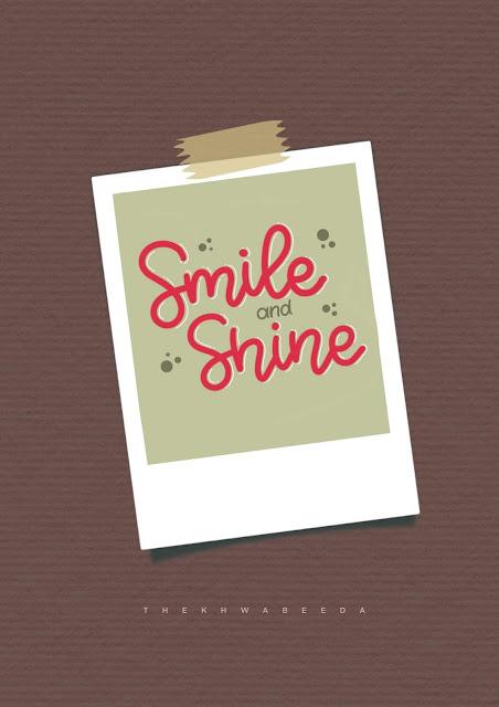 smile-and-shine-english-calligraphy