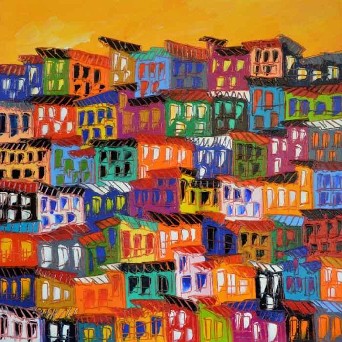 Яркие цвета. Antoni Sierra I Uceda