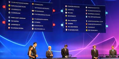 Inilah Hasil Drawing Liga Champion Europa 2018/2019