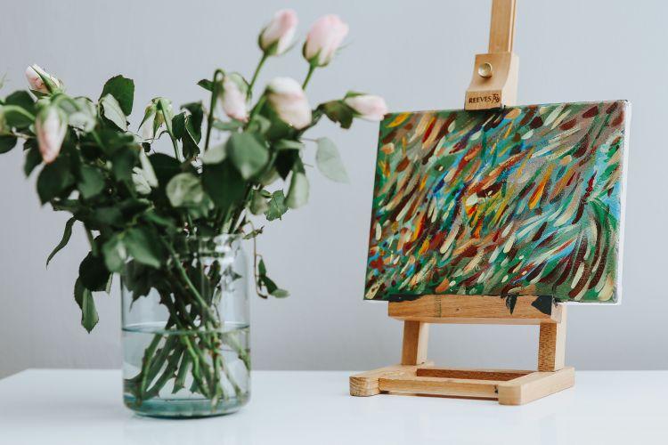 malowanie obrazu na płótnie