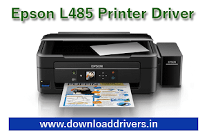 Download Epson L485 printer and scanner drivers for Windows And MAC