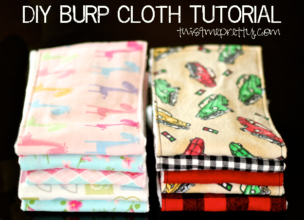 Quick and easy baby gifts | ribbon, fabric, and sewing projects.