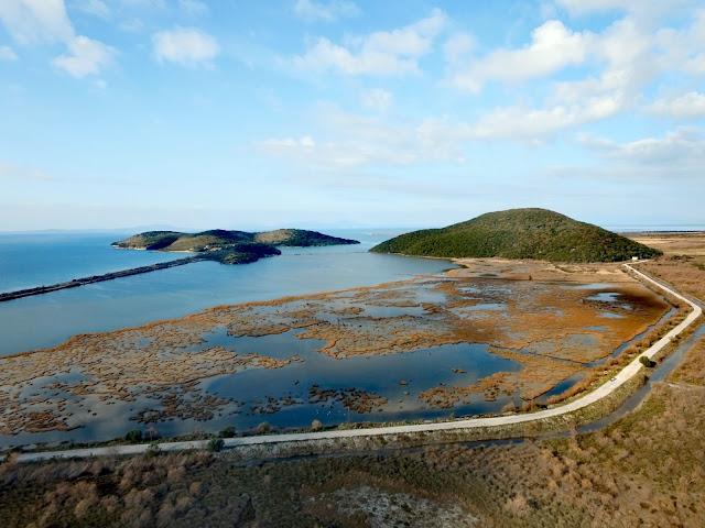 Ηγουμενίτσα: Η λιμνοθάλασσα του Δρεπάνου (ΒΙΝΤΕΟ)
