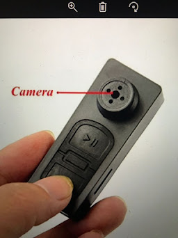 Wireless Spy Button Camera