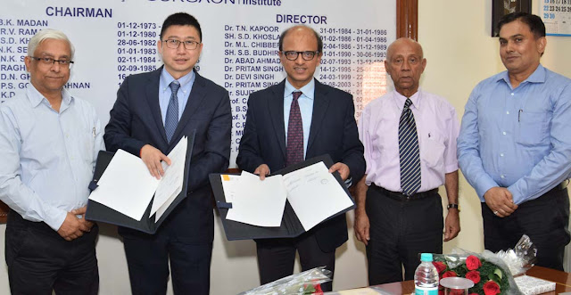 MDI Gurgaon takes a giant leap in international collaboration & join hands with ESCP Europe