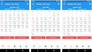 Aplikasi Kalender Jawa