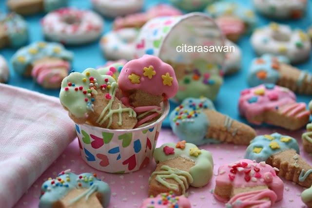 Biskut Ais Cream / Ice Cream Cookies