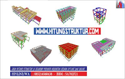 Jasa Perhitungan Struktur Konstruksi Bangunan GEDUNG