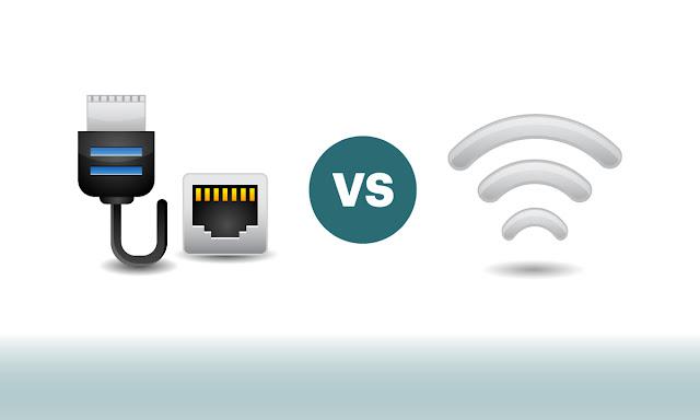 تعرف على الفرق بين استخدام الانترنت عبر الواي فاي والكابل؟