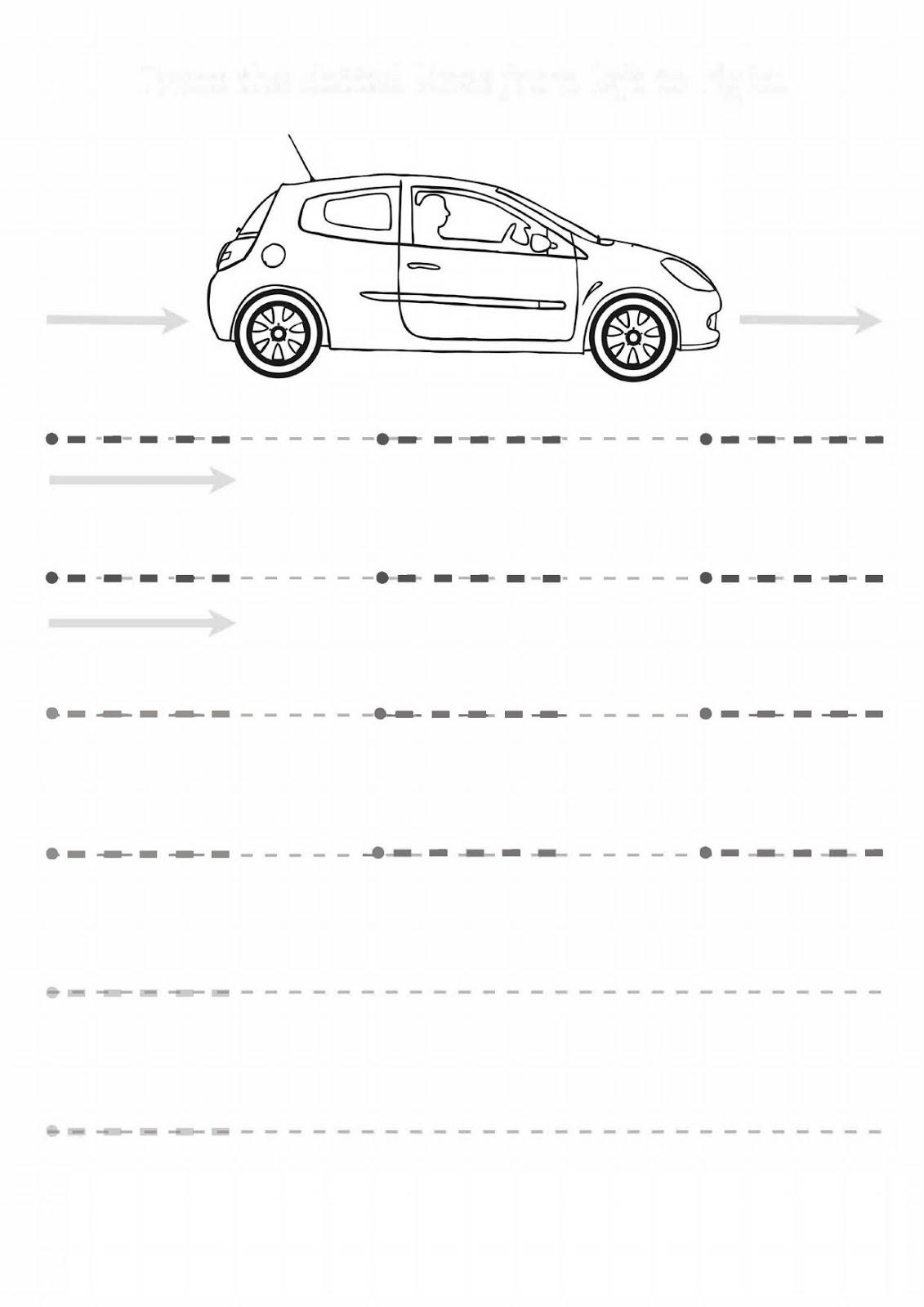 Kindergarten Line Worksheet