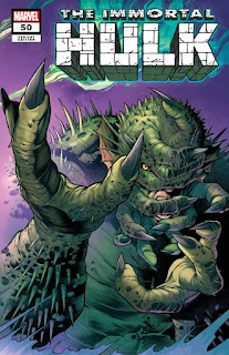 Marvel celebra 'Immortal Hulk' # 50 con ocho portadas de momentos clave.
