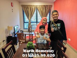 Warih-Homestay-Dr-Hafizi-Sekeluarga