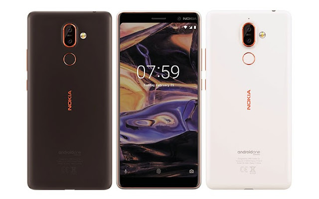 Nokia 7+ Android One edition | 2018