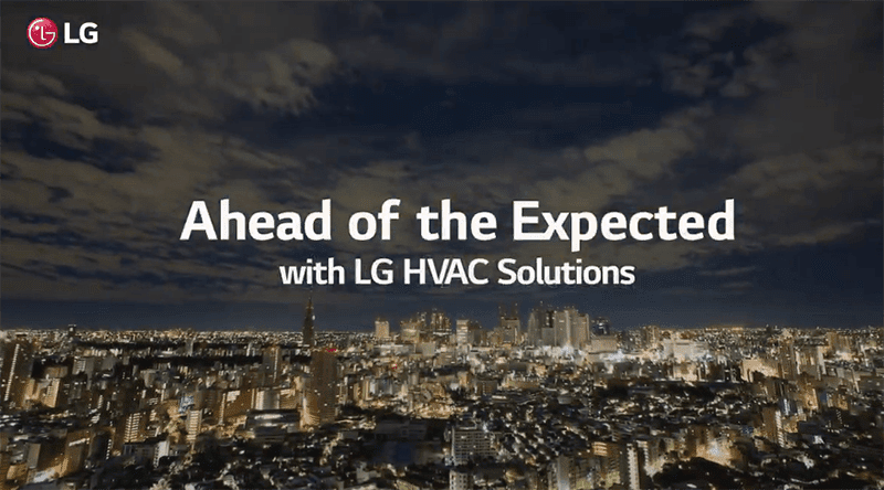 LG HVAC Solutions showcased in a new brand video