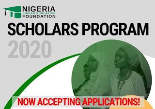 NHEF Scholars Program 2020 for Nigerians | Call for Applications