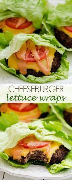 Cheeseburger Lettuce Wraps