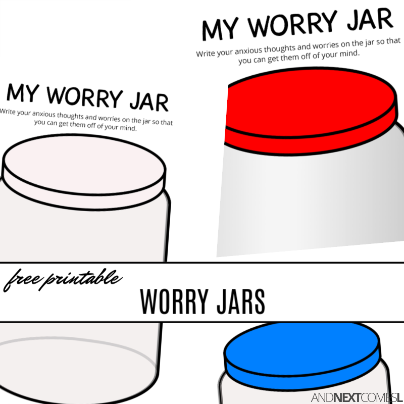 photograph relating to Jar Printable referred to as Cost-free Printable Fear Jars And Future Arrives L