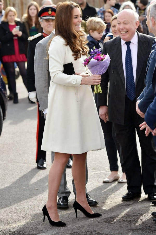 Kate Middleton's Downton Abbey Day Out