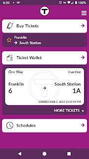 the mTicket app