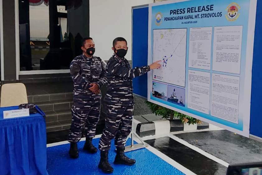 TNI AL Amankan Kapal Tanker Bendera Bahamas di Batam, Diduga Curi Minyak 300 Ribu Barel