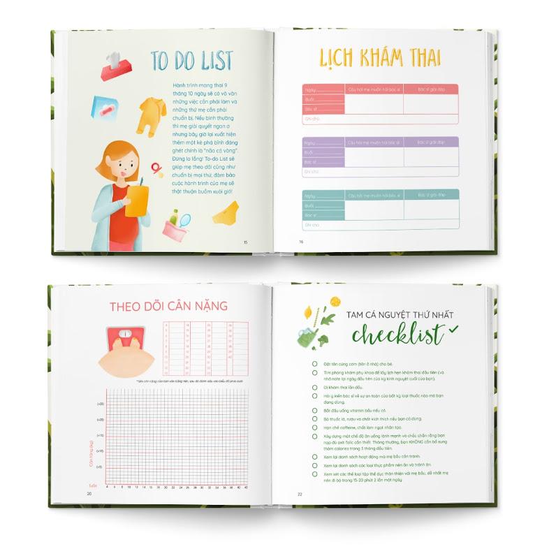 [A116] Hành trình mang thai: Review sách thai giáo bán chạy số 1