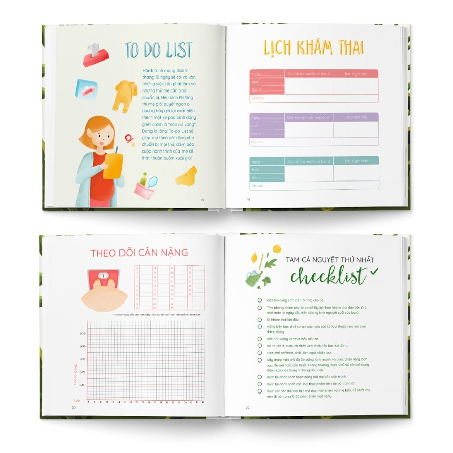 [A116] Activity book: Quà tặng sách ý nghĩa cho Bà Bầu