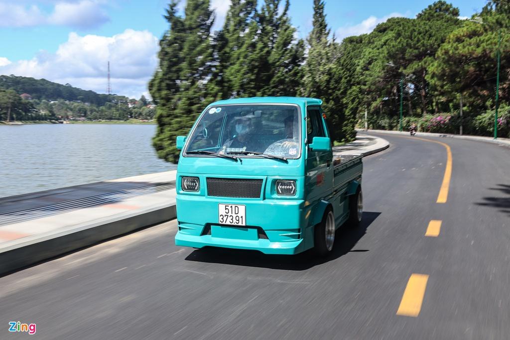 Xe tải nhỏ Suzuki Carry độ widebody tại TP.HCM