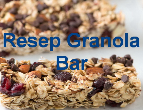 resep cara membuat granola atau resep membuat fitbar yang renyah, lezat dan bergizi tentunya dapat menjadi salah satu literatur buat anda. Yuk simak resepnya