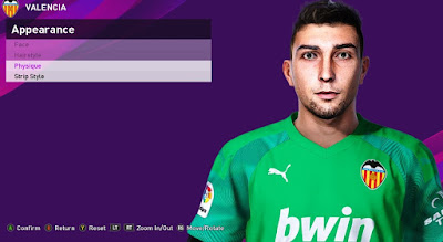 PES 2020 Faces Cristian Rivero by Rachmad ABs
