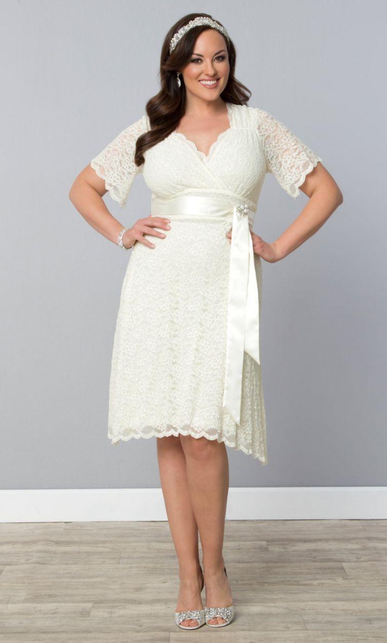 Plus Size Summer Dress For Beach Wedding Saddha