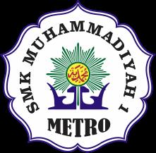 Logo SMK Muhammadiyah 1 Metro